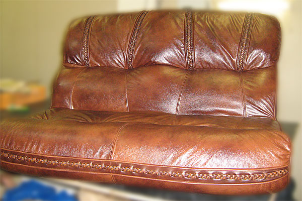 Ремонт кожи на диване - Староселиваново